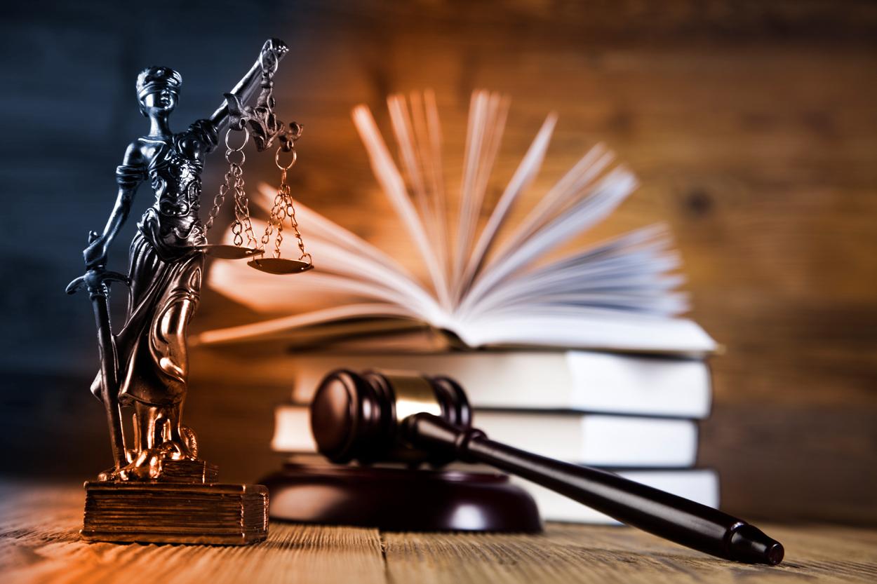 Machen Sie auf das Strafrecht aufmerksam