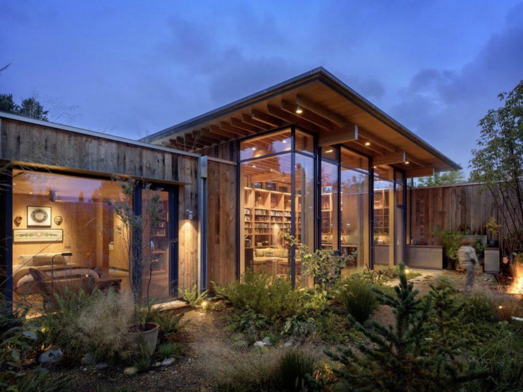 Einstellungen der modernen Häuser